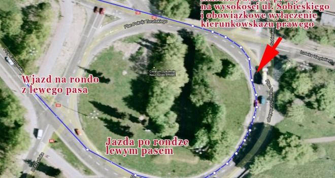 Rondo Pokoju Toruńskiego w Toruniu