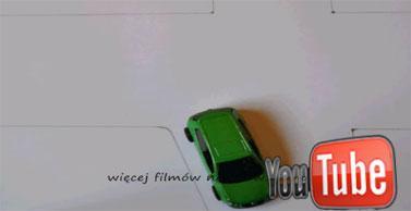 Zawracanie samochodu po prawej stronie nieprawidłowe