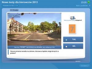 Kolejna wersja testów na prawo jazdy online