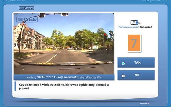 Nowe testy online 2013
