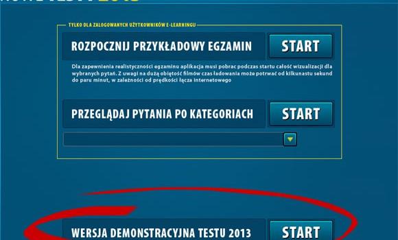 Nowe testy 2013 online