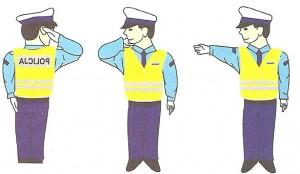 Sygnały i gesty kierującego ruchem drogowym