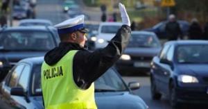Kierowanie ruchem przez policjanta