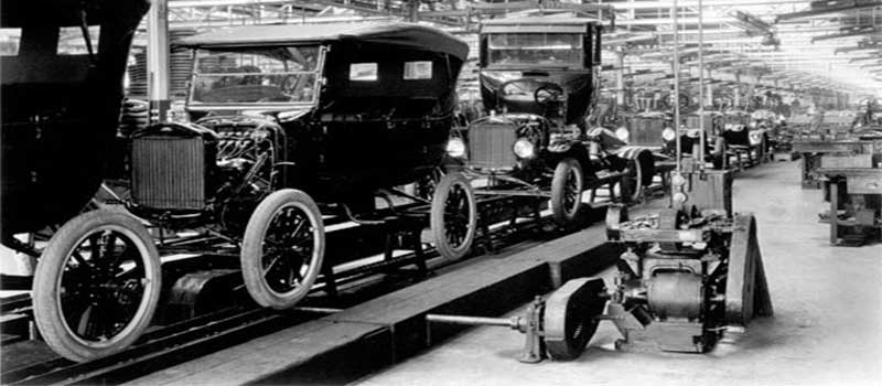 Ford T historia